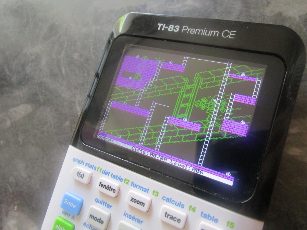 TI-83 Premium CE + Androides lv6