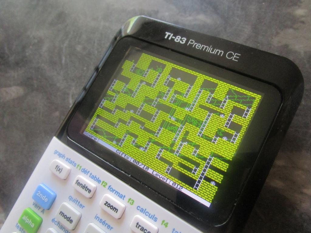 TI-83 Premium CE: Androides lv12