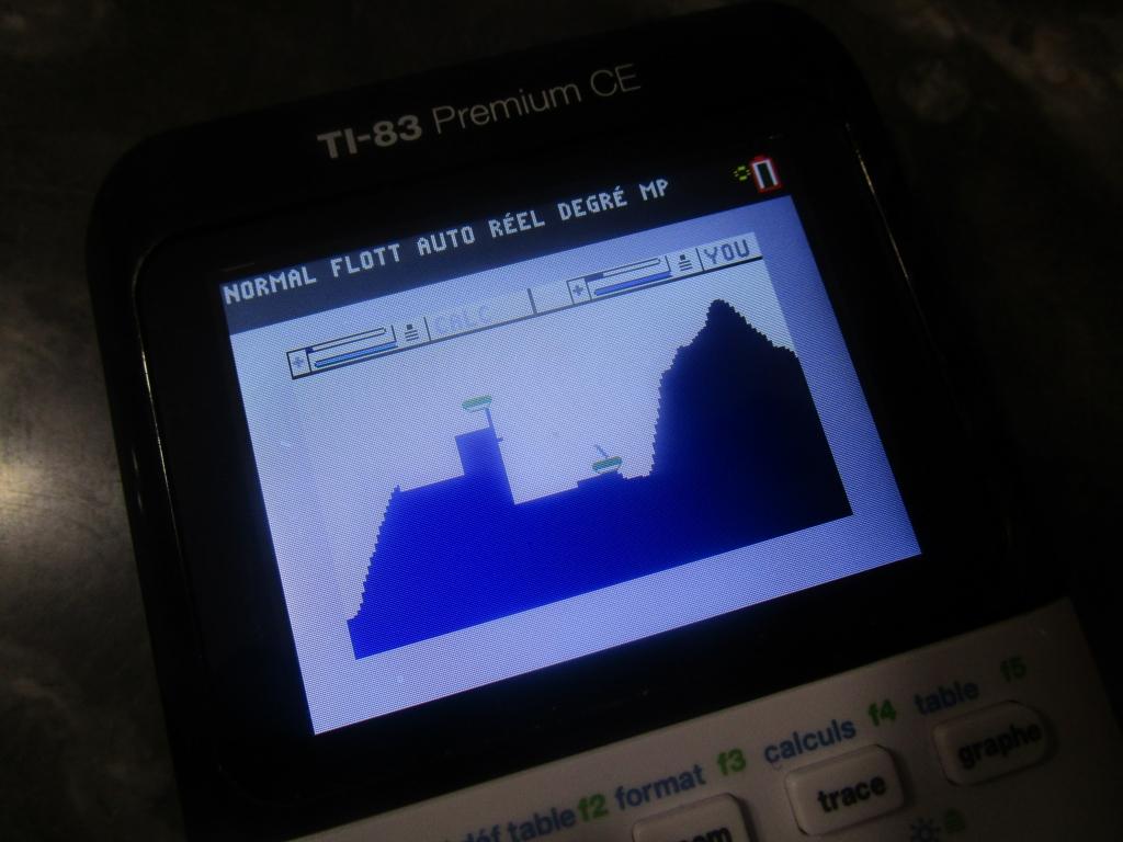 TI-83 Premium CE + Scarth2