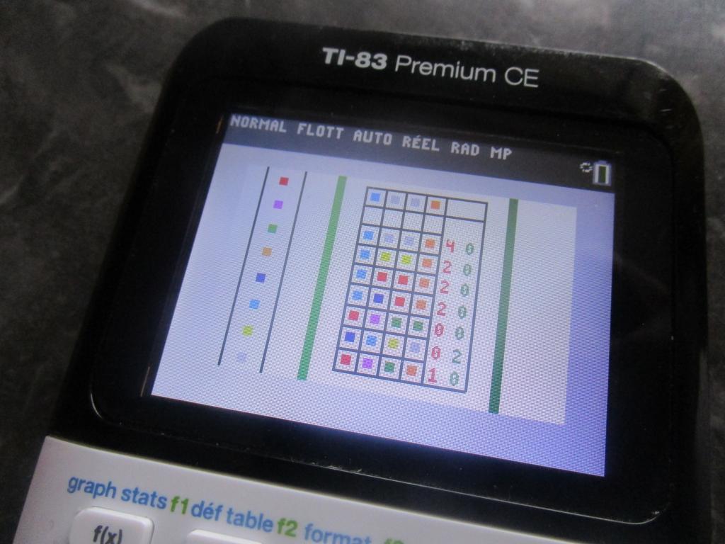 TI-83 Premium CE + MasterMind