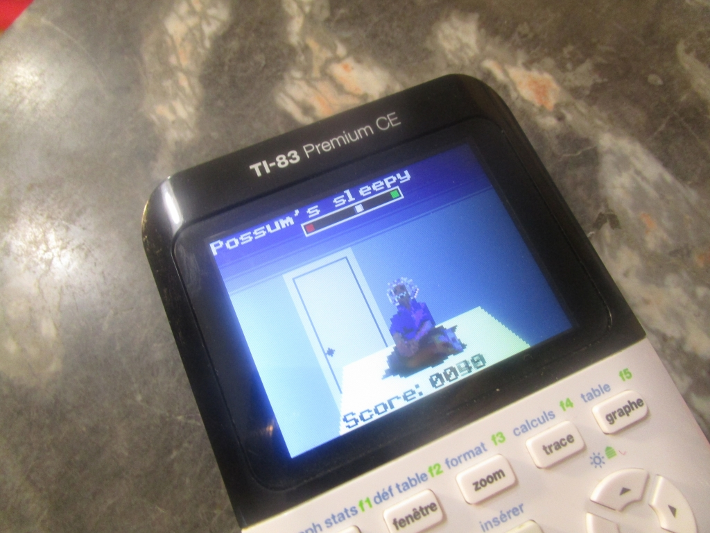 TI-83 Premium CE + Opossum