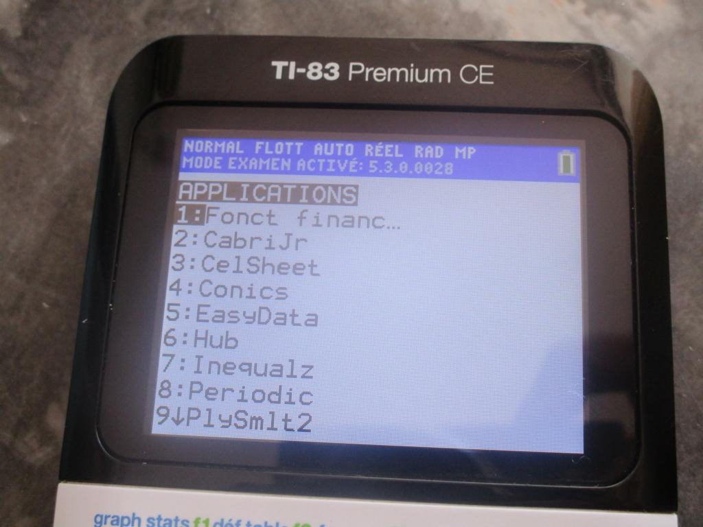TI-83 Premium CE