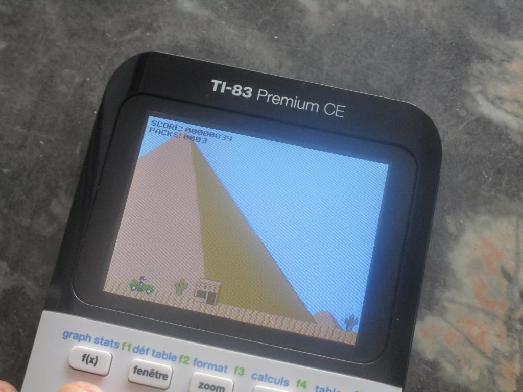 TI-83 Premium CE + Land Loons
