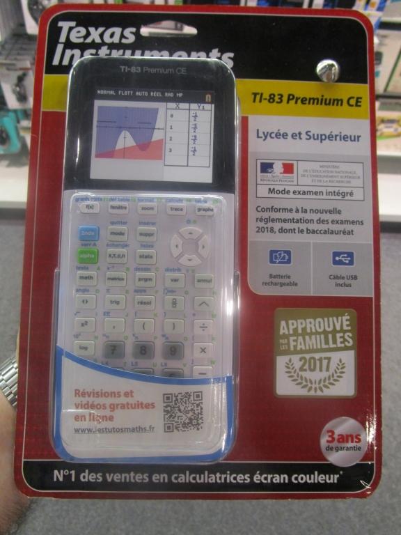 Emballage TI-83 Premium CE 2017
