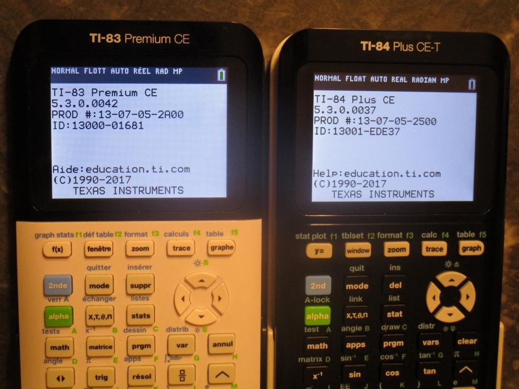 TI-83PCE/84+CE 5.3