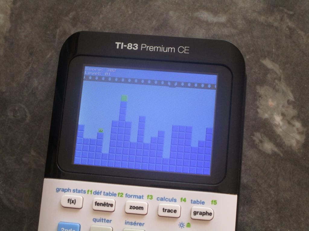 TI-83 Premium C + Boxman