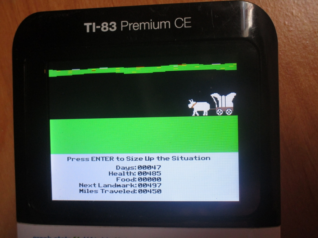 83 Premium CE + The Oregon Trail
