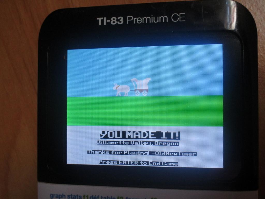 83 Premium CE + Oregon Trail CE