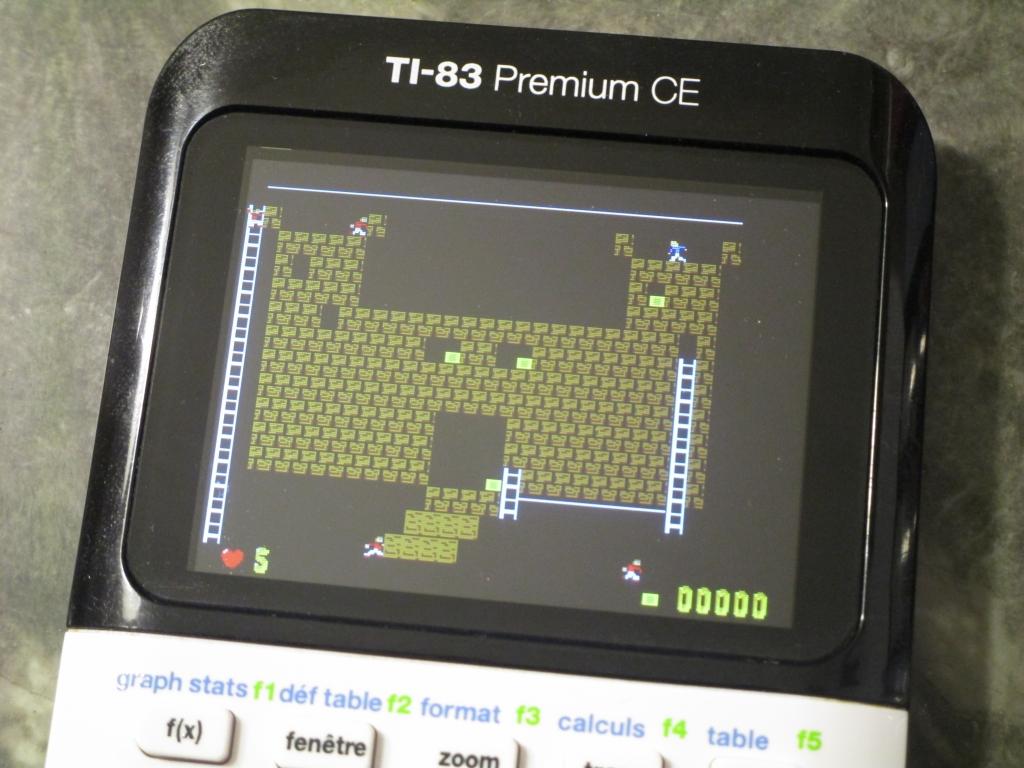 TI-83 Premium CE + Runner