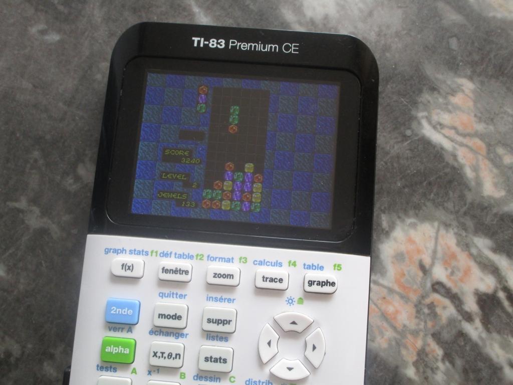 TI-83 Premium CE + Columns CE