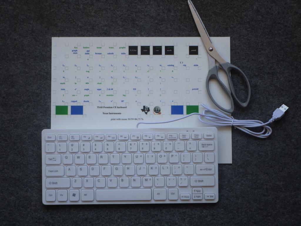 TI-Keyboard CE édition 83 - v2