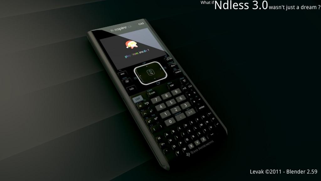 Affiche publicitaire Ndless 3.0 / TI-Nspire CX CAS