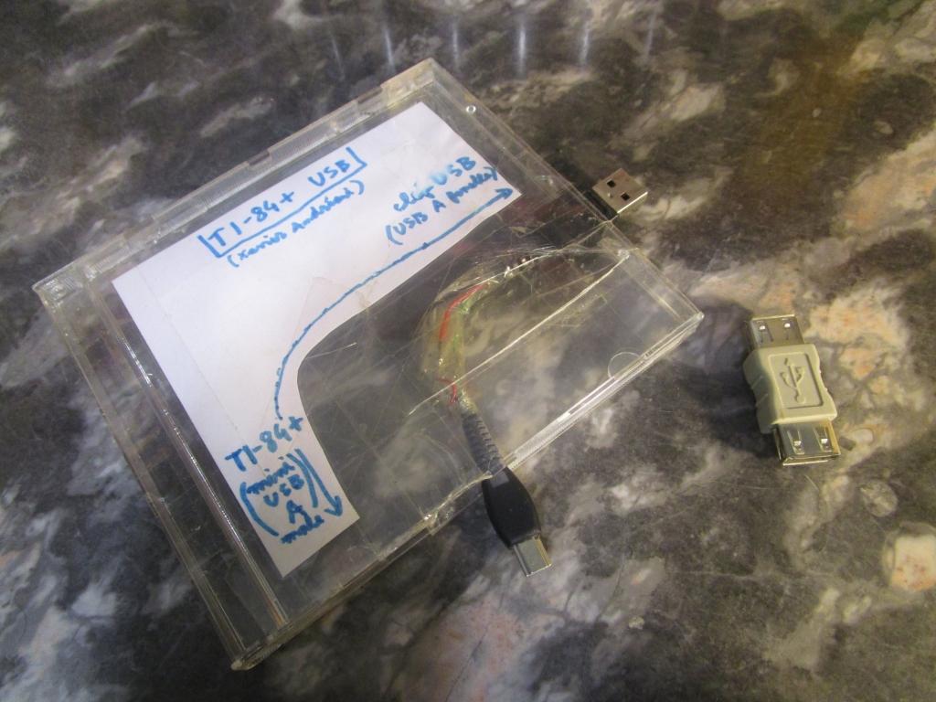 mini-USB(A)m<->USB(A)m+changeur