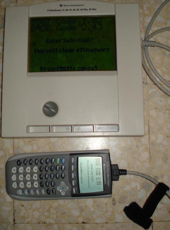 TI-84Plus SE VSC + TI-ViewScreen