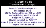 TI-Nspire CX2 TransformerConcept