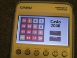 Casio Graph 90+E + 2048