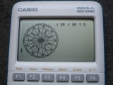Graph 35+E II + rosace rhombique