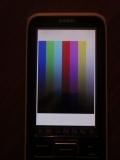 Casio fx-CP400+E + mire RGB 565