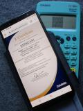 fx-92+SC certificat authenticité
