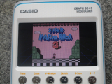 Graph 90+E + Super Mario Bros 3