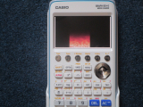 Casio Graph 90+E + Fire
