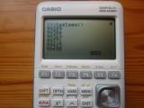 Casio Graph 35+E II : QCC heap