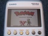 Casio Graph 90+E + Pokemon rouge