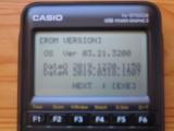 Casio fx-9750GIII + OS 3.21