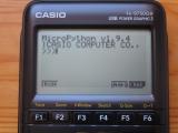 Casio fx-9750GIII + OS 3.40