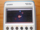 Casio Graph 90+E: Solar (Python)
