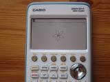 Casio Graph 90+E + fleur Python