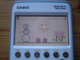 Graph 90+E + lapin Pâques