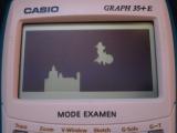Casio Graph 35+E + Bad Apple