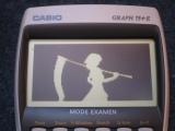 Casio Graph 75+E + Bad Apple