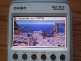 Casio Graph 90+E + img2calc
