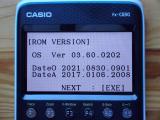 Casio fx-CG50 + OS 3.60