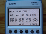 Casio Graph 90+E + OS 3.60