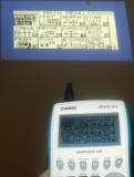 Casio Graph 35+USB vidéoprojetée