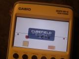 Casio Graph 90+E + Cubefield