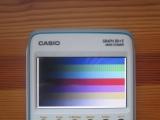 Casio Graph 90+E + mire RGB 565