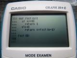 Casio Graph 35+E + CasioPython