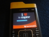 Custom TI-Nspire CX Boot screen