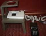 TI-85 VSC + adaptateur Polaroid