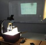 Rétroprojection TI85VSC Polaroid
