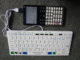 HP Prime G2 + clavier USB TI