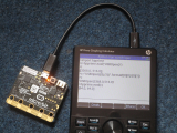 HP Prime G2 + BBC micro:bit v1