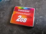 Carte mémoire CompactFlash 2GB