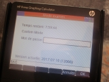 HP Prime +exam 12066