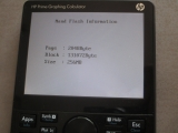 HP Prime G1 diagnostic