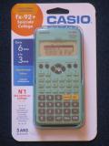Casio fx-92+SC Pavel